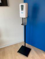 Novicare håndfri spritdispenser med spray funktion og stander