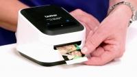 Farve etiketprinter Brother VC-500W m/wi-fi & USB