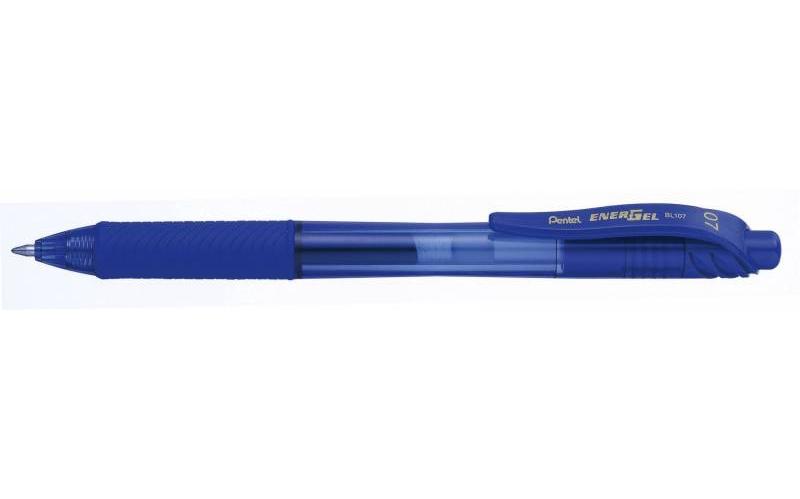 Image of   Rollerpen Pentel EnerGelX blå 0,7mm BL107