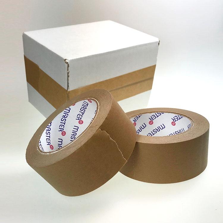 Image of   Pakketape brun papir 48mmx50m