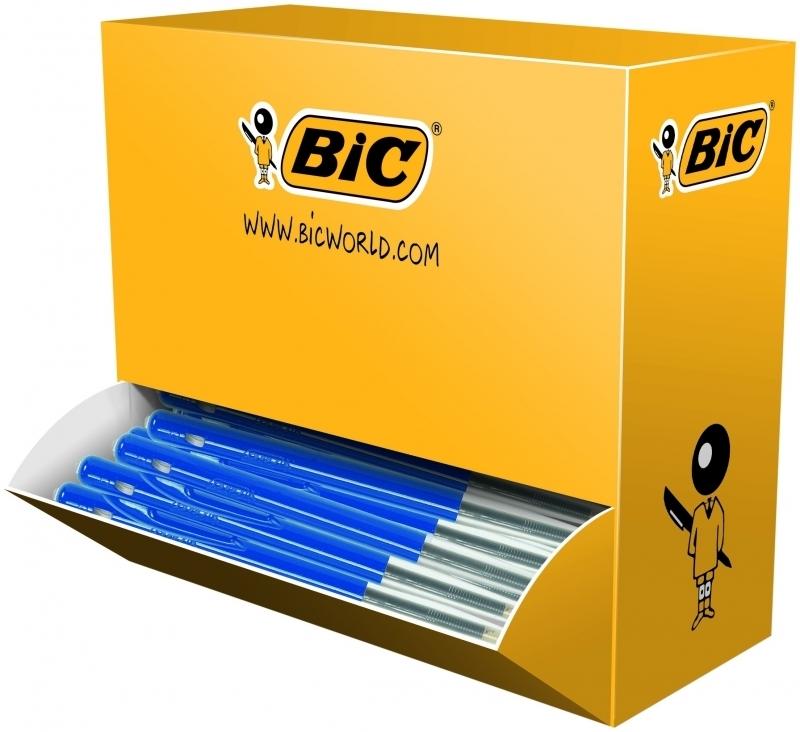 Image of   Kuglepen BIC Clic M10 blå Valuepack