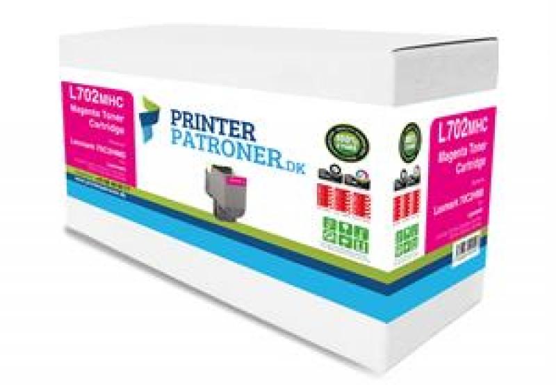 Image of   Lasertoner mag 70C2HM0 Lexmark Uoriginal