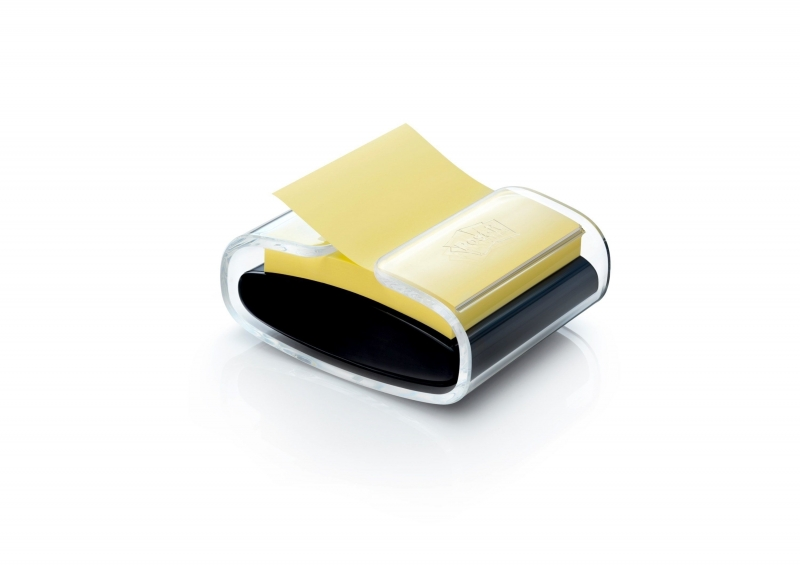 Image of   Dispenser for Z-Notes + 1 Z-Notes 76x76 yellow