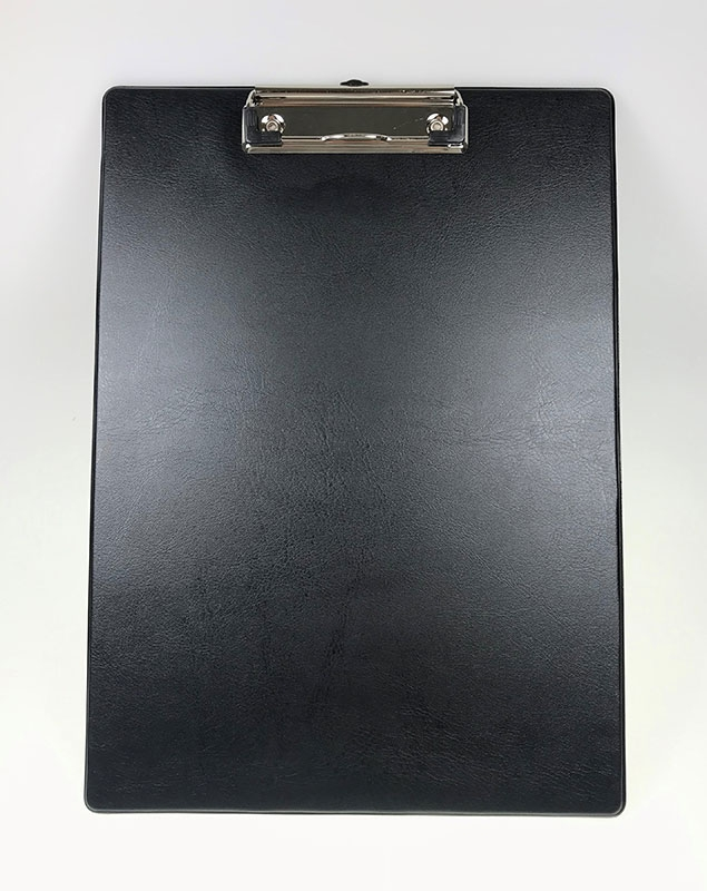 Image of   Clipboard A4, u/forside, sort