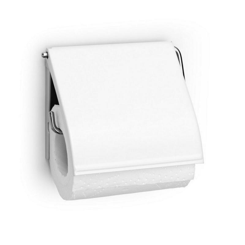 Image of   Dispenser, Brabantia, hvid, klar til vægmontering