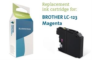 Image of   Blækpatron mag LC123M Brother Uoriginal