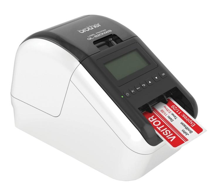 Image of   Brother QL-820NWB trådløs labelprinter