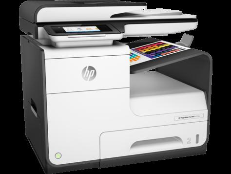 Blækprinter HP PageWide Pro MFP 477DW