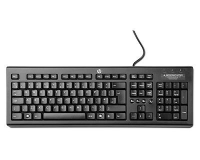 HP Classic Wired Keyboard Nordics