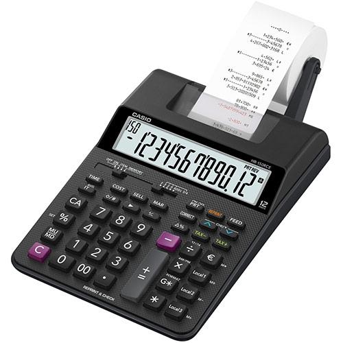 Image of   Revisor strimmelregner Casio HR-150RCE euro stort 12-cifret display