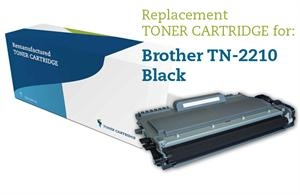 Lasertoner sort TN-2210/TN-2010 Brother Uoriginal