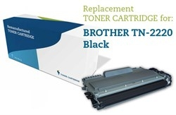 Lasertoner sort TN-2220 Brother Uoriginal, 2600 sider