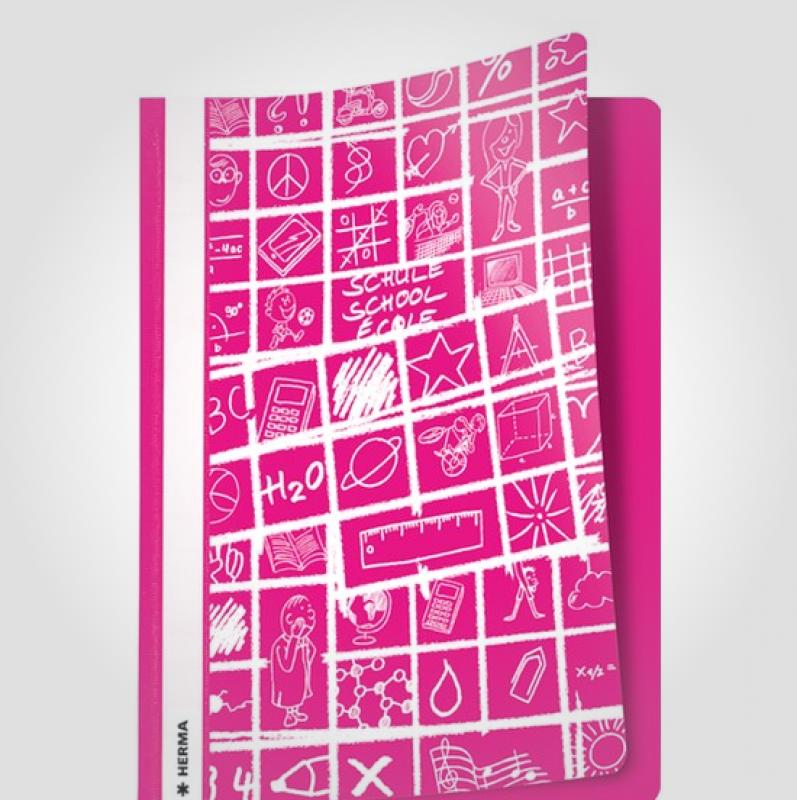 Billede af Herma tilbudsmappe Schoolydoo A4 pink
